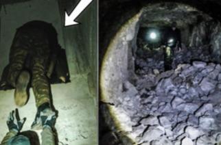 """ΒΙΝΤΕΟ: Η μυστική είσοδος Πολυβολείου του Β' Παγκοσμίου Πολέμου στα ελληνοβουλγαρικά σύνορα, που """"ανακάλυψαν"""" νεαροί εξερευνητές"""