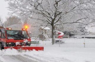 Έρχονται έντονες χιονοπτώσεις το απόγευμα Τρίτης στον Έβρο
