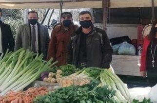 Αλεξανδρούπολη: Στην λαϊκή αγορά της πόλης παραμονή Πρωτοχρονιάς, Πρόεδρος Δημοτικού Συμβουλίου και Αντιδήμαρχοι