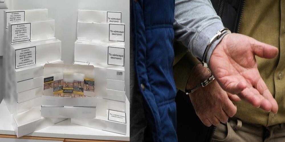 Ορεστιάδα: Τους συνέλαβαν να έχουν στο αυτοκίνητο 500 πακέτα λαθραία τσιγάρα