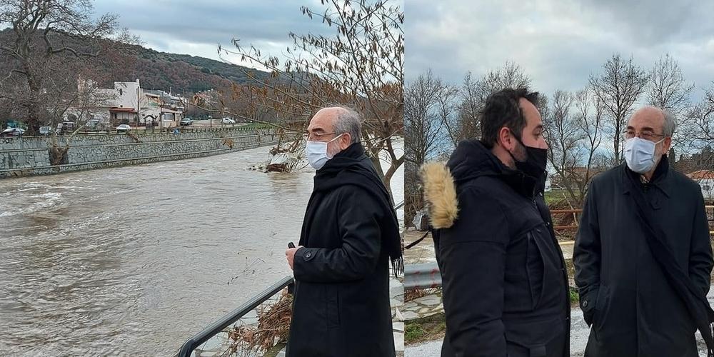 """Ντροπιαστική ανάρτηση της παράταξης Λαμπάκη: """"Πανηγυρίζουν"""" ότι οι πλημμύρες… τέλειωσαν την """"τύχη"""" του δημάρχου Γ.Ζαμπούκη!!!"""