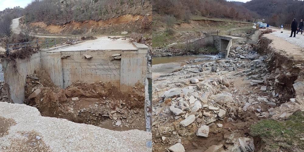 Σουφλί: Καταγραφή των σοβαρών ζημιών στον ορεινό όγκο, από κλιμάκιο μηχανικών του δήμου