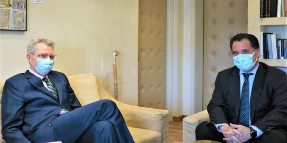 Αλεξανδρούπολη: Στην ατζέντα της συνάντησης Άδωνι Γεωργιάδη-Πάιατ
