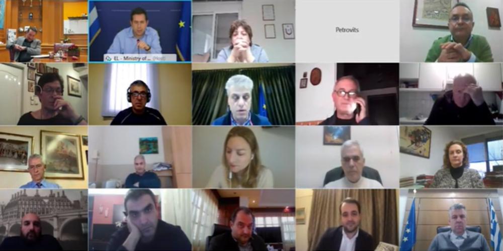 ΒΙΝΤΕΟ-ντοκουμέντο: Η επίθεση Μηταράκη στο Evros-news.gr, στην τηλεδιάσκεψη με τους θεσμικούς του Έβρου