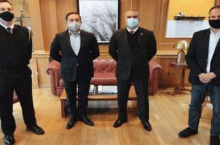 Αλεξανδρούπολη: Ο νέος Βοηθός Ναυτικού Ακολούθου της Αμερικανικής Πρεσβείας συναντήθηκε με τον δήμαρχο Γ.Ζαμπούκη