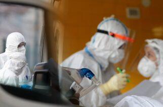 Κορωνοϊός: Σε Θράκη και Μακεδονία το 61% των θανάτων του δεύτερου κύματος της πανδημίας