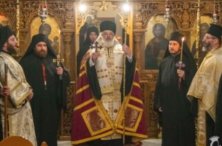 Κουρά δύο νέων μοναχών στην Ιερά Μονή Αγίας Παρασκευής Διδυμοτείχου