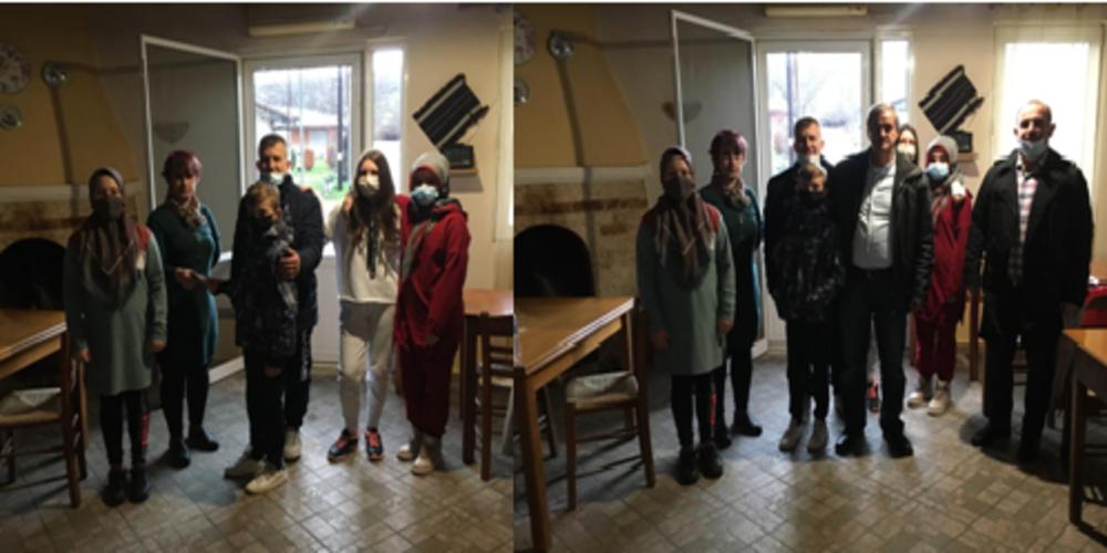 ΜΠΡΑΒΟ: Μαθητές του Μειονοτικού Σχολείου και κάτοικοι Μεγάλου Δερείου, Ρούσσας, συγκέντρωσαν χρήματα για τους πλημμυροπαθείς