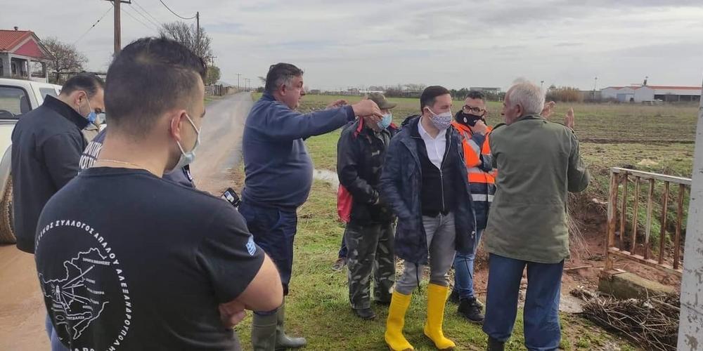 Ξεκίνησε η καταγραφή των ζημιών από τον δήμο Αλεξανδρούπολης