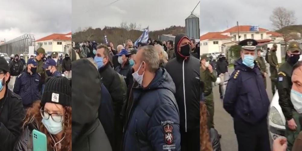 Ορεστιάδα: Συλλαλητήριο Εβριτών κατά Μηταράκη και έξω απ' το ΚΥΤ Φυλακίου