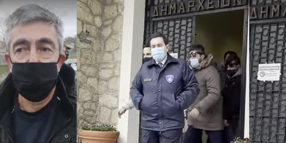 """ΒΙΝΤΕΟ: Προκλητικός Μηταράκης στον Πρόεδρο Φυλακίου: """"Μπορώ να φέρω και 10.000 και θα το κάνω"""""""