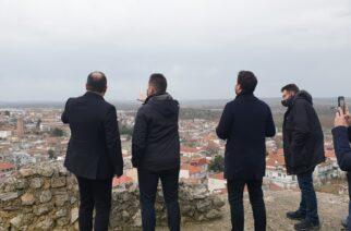Διδυμότειχο: Επίσκεψη-ενημέρωση του Αναπληρωτή υπουργού Εσωτερικών Σ.Πέτσα, για τα προβλήματα απ' την κακοκαιρία