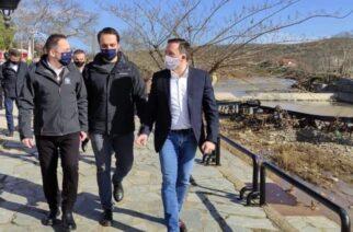 Αλεξανδρούπολη: Συνάντηση Πέτσα με τον δήμαρχο Γ.Ζαμπούκη και αυτοψία στις πληγείσες περιοχές (φωτορεπορτάζ)