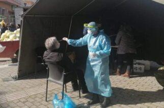 Δωρεάν rapid testsγια τους δημότες στη λαϊκή αγορά Φερών