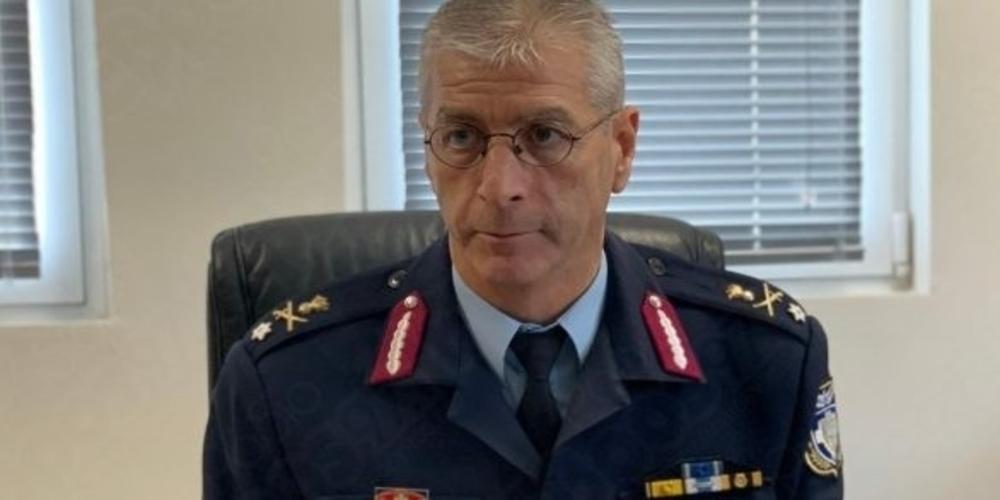 Σε Υποστράτηγο της Ελληνικής Αστυνομίας προήχθη ο Εβρίτης Πασχάλης Συριτούδης