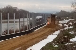 Τον Απρίλιο απόλυτα έτοιμος ο νέος φράχτης του Έβρου μήκους 27 χλμ