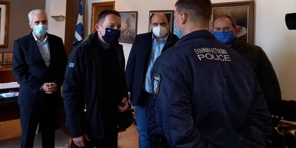 Σουφλί-Πέτσας: Το ευχαριστώ Πρωθυπουργού, Κυβέρνησης, στον αστυφύλακα που έσωσε ανθρώπινες ζωές στο Μ.Δέρειο