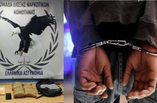 """Σουφλί: Έφερε 3,5 κιλά ηρωίνη απ' την Τουρκία, αλλά ο """"αγοραστής"""" ήταν αστυνομικός και τον συνέλαβε"""