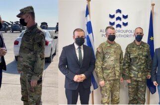 Αλεξανδρούπολη: Επίσκεψη στο λιμάνι του Διοικητή των αμερικανικών δυνάμεων Ευρώπης και Αφρικής