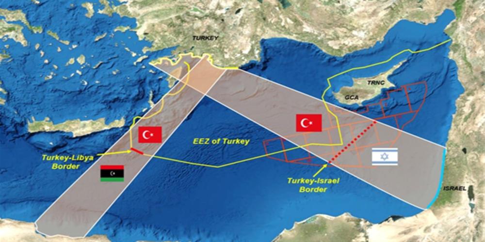 """""""Οι τρεις διαφορετικές δικαστικές προσφυγές, για ναακυρωθεί σίγουρα, ο χάρτης της Γαλάζιας Πατρίδας!"""""""