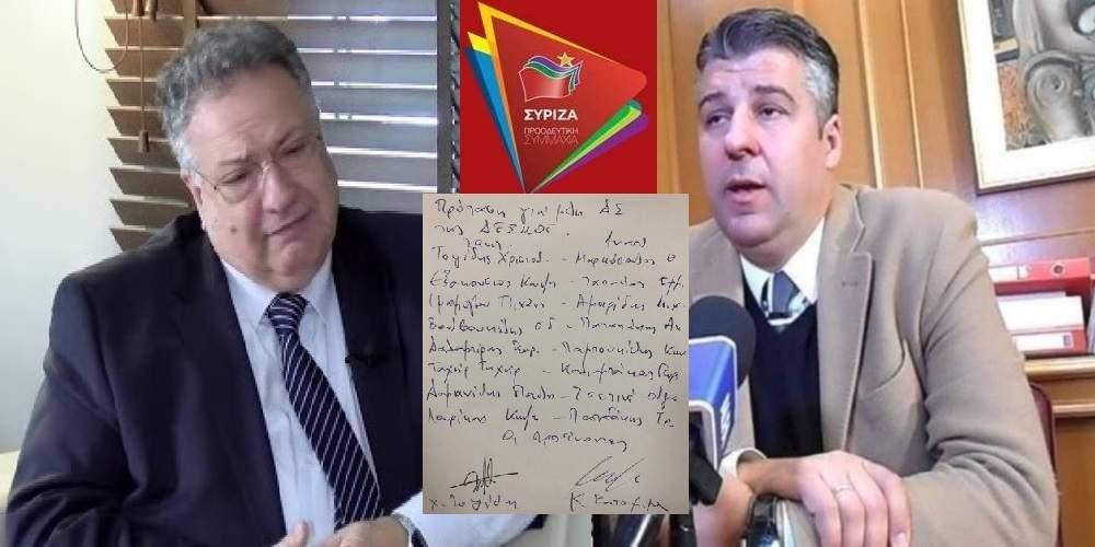 """Τοψίδης: Δέχθηκε άλλη μια """"σφαλιάρα"""" για την ΔΕΣ-ΜΟΣ, μαζί με Κατσιμίγα, στο Περιφερειακό Συμβούλιο"""