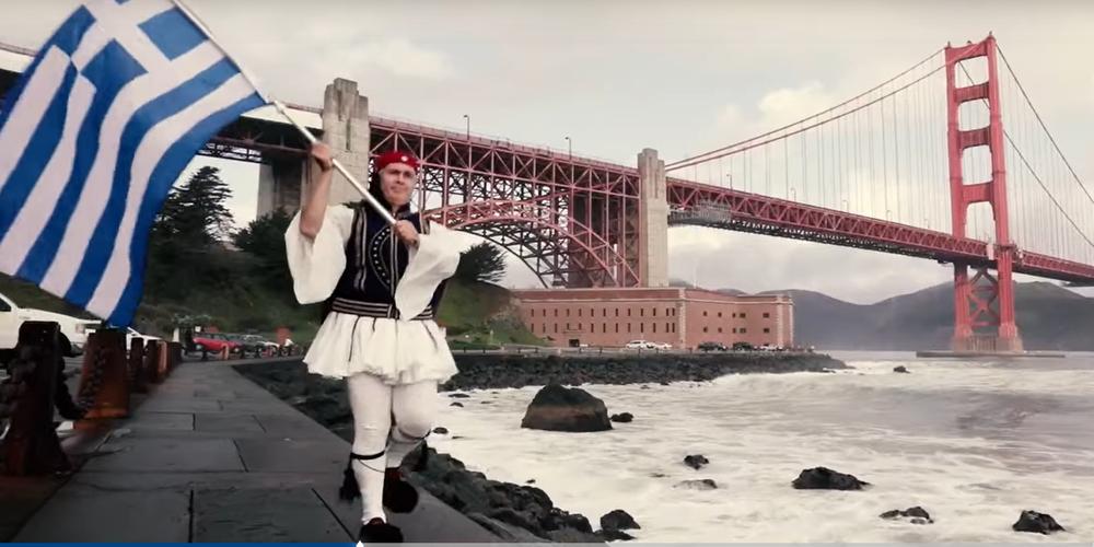 Το τραγούδι της Σαμοθρακίτισσας Ζωής Τηγανούρια για το 1821 οπτικοποιήθηκε από Έλληνα ομογενή στην Καλιφόρνια