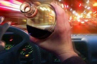 Ορεστιάδα: Συνελήφθη μεθυσμένος οδηγός και χωρίς δίπλωμα