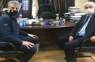 Ορεστιάδα: Συνάντηση του δημάρχου Βασίλη Μαυρίδη με τον Πρύτανη του ΔΠΘ Αλέξανδρο Πολυχρονίδη