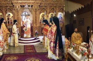 Η μνήμη των αγίων Τεσσαράκοντα Μαρτύρων εορτάστηκε στην Ιερά Μονή Δαδιάς