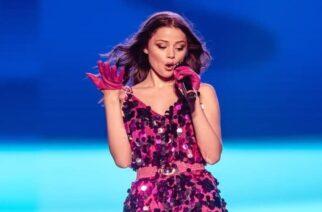 """ΒΙΝΤΕΟ: Η Εβρίτισσα Στεφανία Λυμπερακάκη παρουσίασε το τραγούδι """"Last Dance"""" που θα μας εκπροσωπήσει στη Eurovision"""