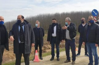 Διδυμότειχο: Επίσκεψη και αυτοψία του Γ.Γ Οικονομικής Πολιτικής Χρήστο Τριαντόπουλου στις πληγείσες περιοχές