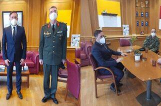 Αλεξανδρούπολη: Συνάντηση Δημάρχου Γ. Ζαμπούκη με τον νέο Διοικητή της ΧΙΙ Μεραρχίας Πεζικού