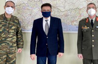 Πέτροβιτς: Εθιμοτυπική συνάντηση με το νέο Διοικητή της ΧΙΙ Μεραρχίας Έβρου