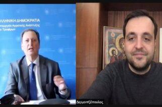 Δερμεντζόπουλος: Έθεσε σημαντικά ζητήματα των αγροτών του Έβρου, στον υπουργό Αγροτικής Ανάπτυξης Σπήλιο Λιβανό