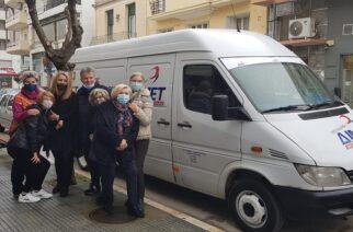 Μυτιληνός: Η εταιρεία του ΔΙΜΕΤ, μετέφερε δωρεάν την βοήθεια για τους σεισμοπαθείς της Ελασσόνας