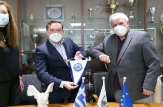 Μνημόνιο συνεργασίας του Δήμου Αλεξανδρούπολης με την Ελληνική Ομοσπονδία Βόλεϊ