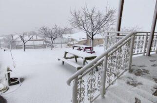 Χιονοπτώσεις Τετάρτη και Πέμπτη σε Σουφλί, Διδυμότειχο, Ορεστιάδα, δείχνουν οι προβλέψεις καιρού