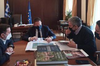 Συνάντηση Ζαμπούκη-Πέτσα: Χρηματοδότηση 2,8 εκατ. ευρώ για αποκατάσταση ζημιών στην ύδρευση της Αλεξανδρούπολης
