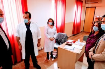 Μέτιος: Επιπλέον 1 εκατ. ευρώ για εξοπλισμό σε Π.Γ.Νοσοκομείο Αλεξανδρούπολης και τα Κέντρα Υγείας Έβρου