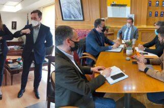 Σειρά συναντήσεων με ανθρώπους του τουρισμού, είχε ο δήμαρχος Αλεξανδρούπολης Γιάννης Ζαμπούκης