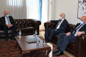 Συνάντηση του Περιφερειάρχη ΑΜΘ Χρήστου Μέτιου με Πρέσβη και Γενικό Πρόξενο Θεσσαλονίκης της Γεωργίας