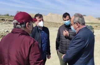 Αλεξανδρούπολη: Επίσκεψη του δημάρχου Γιάννη Ζαμπούκη, στο υπό κατασκευή Σφαγείο Φερών