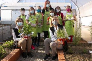 Ορεστιάδα: Ένα πρότυπο θερμοκήπιο δημιουργήθηκε στο δημοτικό σχολείο των Ριζίων (ΒΙΝΤΕΟ)