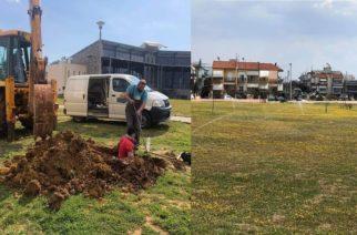 Αλεξανδρούπολη: Σημαντικές παρεμβάσεις και λύσεις στο πάρκο Αλτιναμάζη από συνεργεία του δήμου