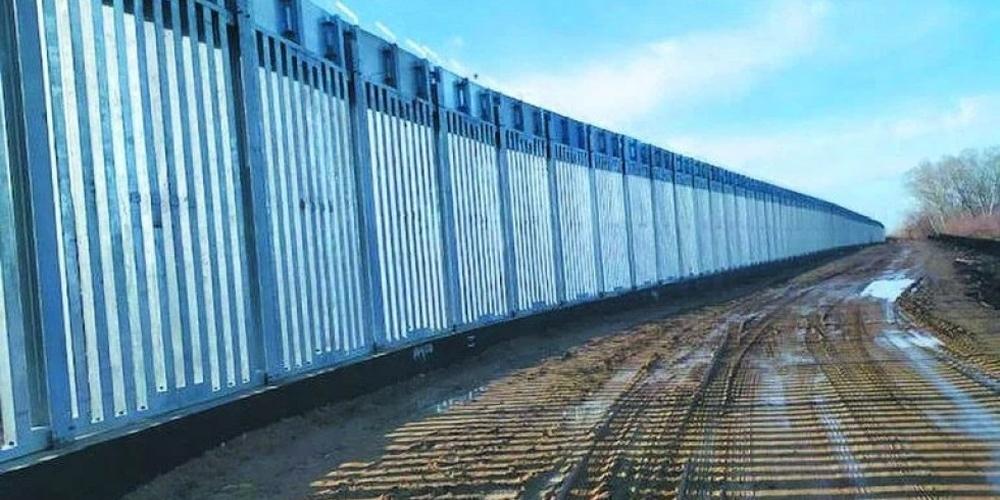 ΒΙΝΤΕΟ: Έτσι συνεχίζει να χτίζεται ο νέος φράχτης στον Έβρο, μήκους 27 χιλιομέτρων