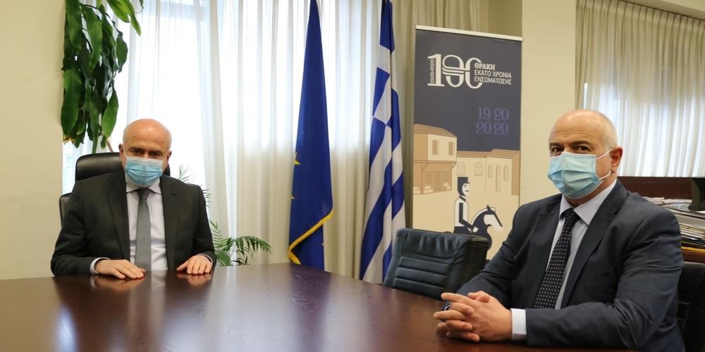 Ειδικός σύμβουλος της Περιφέρειας ΑΜΘ σε θέματα Περιβάλλοντος, Υποδομών και Μεταφορών ορίστηκε ο Κίμων Παπαδόπουλος