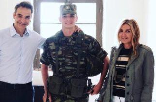 Μητσοτάκης: Θέλω να επισκεφθώ πάλι τον γιο μου στο στρατόπεδο της Αλεξανδρούπολης, πριν απολυθεί