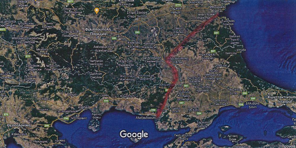 """""""Η Θρακική Διώρυγα, μεταξύ Αλεξανδρούπολης και Μπουργκάς, αξίζει ίσαμε δύο Τουρκικές διώρυγες!"""""""