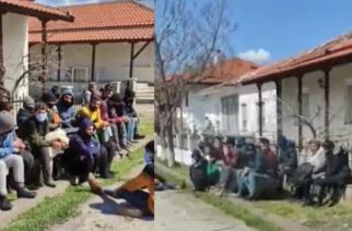 Ορεστιάδα: Φτιάχνει ο καιρός και οι λαθρομετανάστες μόλις πέρασαν στον Έβρο… λιάζονται στο Ορμένιο