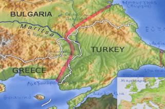 """""""Η Θρακική Διώρυγα, θα είναι η πιο σύντομηθαλάσσια οδός, μεταξύ Εύξεινου και Αιγαίου"""""""